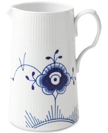 Blue Fluted Mega 1.7-L Porcelain Modern Jug Royal Copenhagen