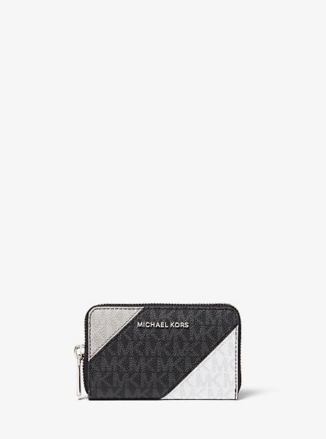 Маленький цветной кошелек с логотипом Michael Kors