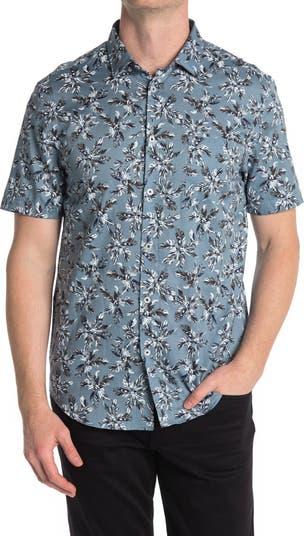 Тканая рубашка стандартного кроя с принтом Good Man Brand
