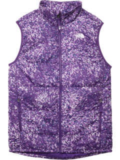 Printed Reactor Insulated Vest (Little Kids/Big Kids) The North Face Kids