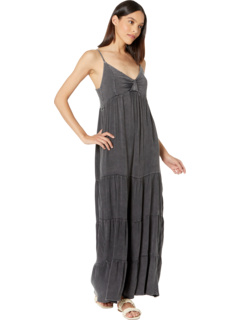 Heirloom Wovens Tiered Ruffle Maxi Dress Chaser
