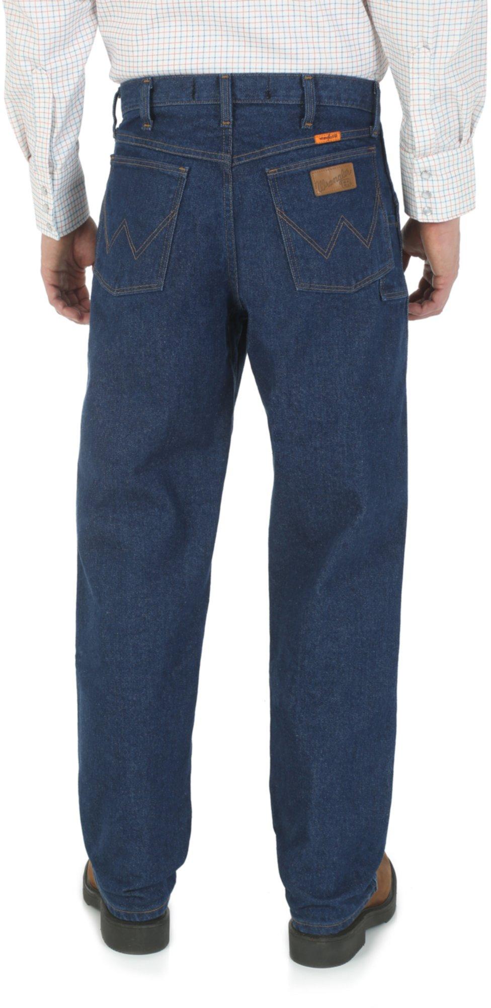 Огнестойкие расслабленные джинсы Fit Cowboy Cut Wrangler