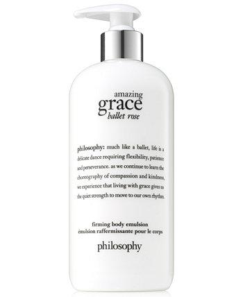 Укрепляющая эмульсия для тела Amazing Grace Ballet Rose, 16 унций. Philosophy