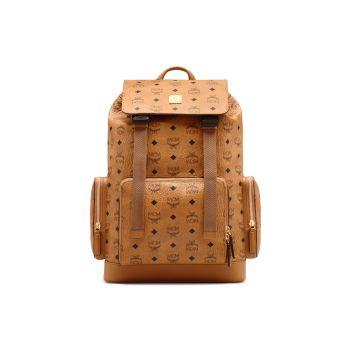 Кожаный рюкзак с монограммой Brandenberg MCM