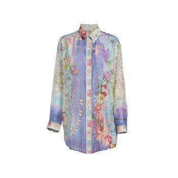 Camicia Floral & amp; Рубашка с пейсли Etro