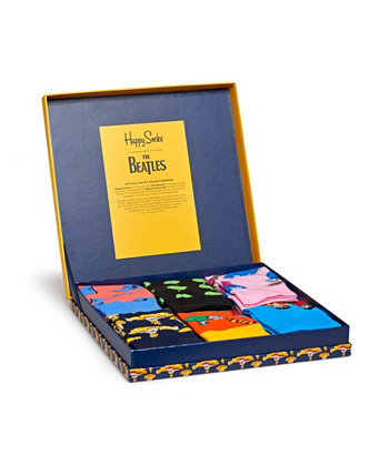 Beatles Collector 6 Pack Носок Happy Socks