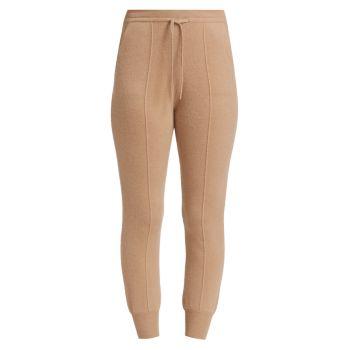 Тонкие брюки-джоггеры из кашемира NAADAM