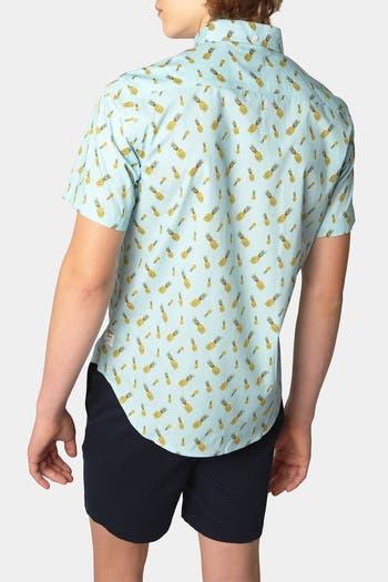 Рубашка с коротким рукавом в форме ананаса PUBLIC ART