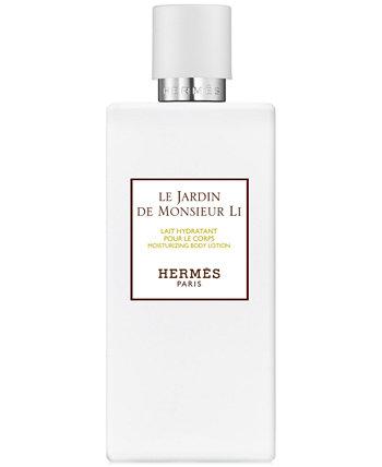 Увлажняющий лосьон для тела Le Jardin de Monsieur Li, 6,7 унций. HERMÈS