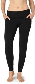 Уютные длинные спортивные брюки из флиса с откидной крышкой - Для женщин Beyond Yoga