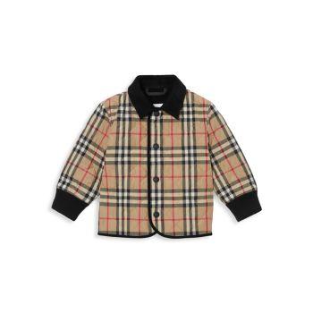 Детские & amp; Стеганая куртка Little Kid's Culford Burberry