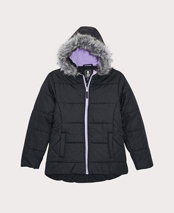 Стеганое пуховое пальто Little Girls S Rothschild & CO