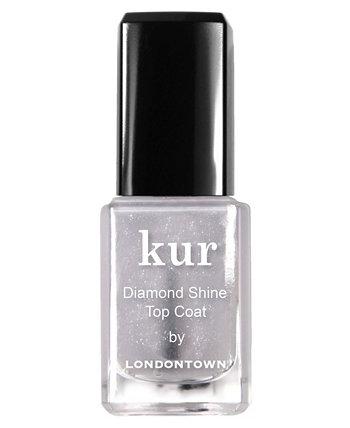 Верхнее покрытие для ногтей Kur Diamond Shine Londontown