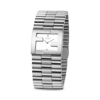 Часы Fendimania с браслетом из нержавеющей стали Fendi Timepieces