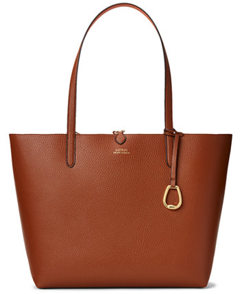 Двусторонняя сумка-тоут Pebble Ralph Lauren