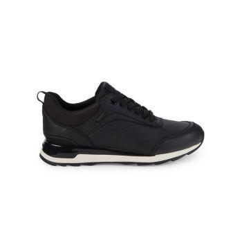 Кожаные кроссовки New Aneko Geox