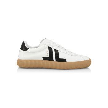 Низкие кожаные кроссовки Glen Arpege Lanvin