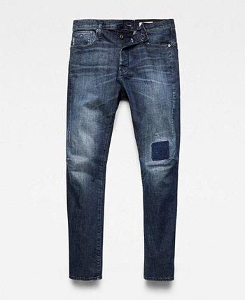 Мужские зауженные джинсы Scutar 3D с зауженными краями G-Star