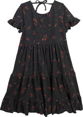 Многоярусное платье-трапеция AVA AND YELLY