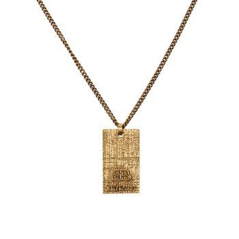 Ожерелье с подвеской Precious BB с логотипом Balenciaga