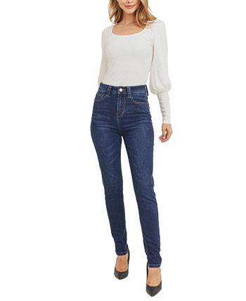 Экологичные женские джинсы скинни Rubberband Stretch
