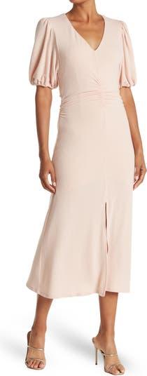 Вязаное платье со сборками спереди 19 Cooper