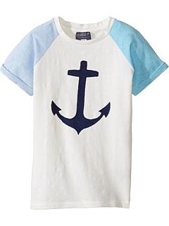 Lucky Anchor T-Shirt (для малышей / маленьких детей / больших детей) Toobydoo