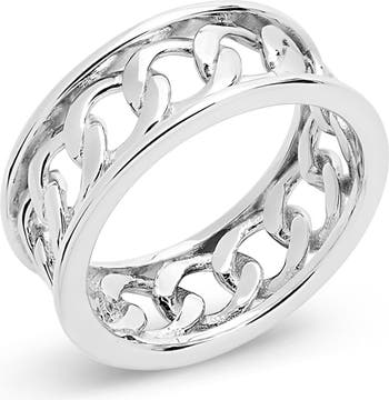 Кольцо-браслет-цепочка из стерлингового серебра Sterling Forever
