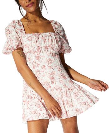 Love Story Babydoll Dress MINKPINK