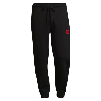 Спортивные брюки с логотипом на шнурке Doak212 HUGO