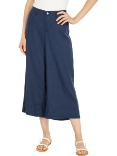 Укороченные широкие брюки из льна Petite NYDJ Petite