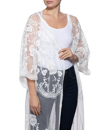 Кимоно INC Lace, созданное для Macy's INC International Concepts