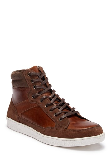 Высокие кожаные кроссовки Seiler Crevo