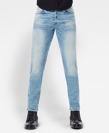 Мужские прямые зауженные джинсы 3301 G-Star