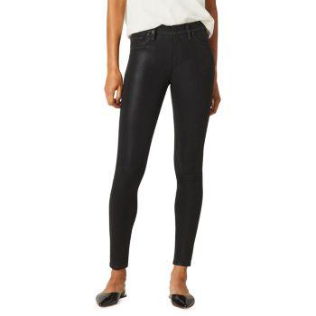 Джинсы-скинни Barbara с высокой посадкой и покрытием до щиколотки Hudson Jeans