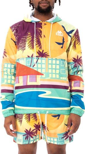 Куртка-анорак с капюшоном и принтом Authentic Bloxom Resort Kappa Active