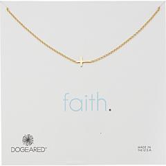Faith, Маленькое колье в виде креста Dogeared