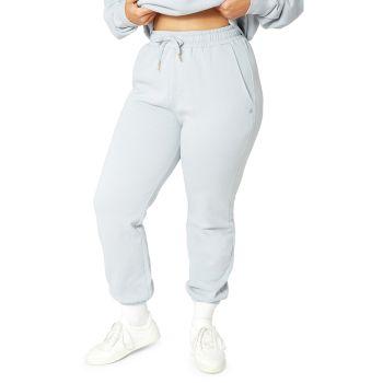 Хлопковые спортивные штаны с высокой талией WeWoreWhat