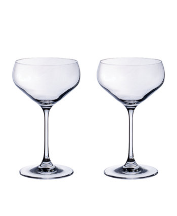 Purismo Bar Champagne Coup: набор из 2 шт. Villeroy & Boch
