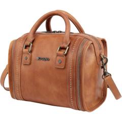 Миниатюрная сумка через плечо Trunk из натуральной кожи Old Trend