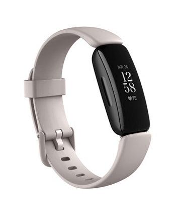 Умные часы Inspire 2 Lunar с белым ремешком, 19,5 мм Fitbit