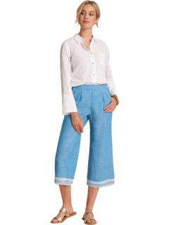 Укороченные широкие брюки - Шамбре Hatley