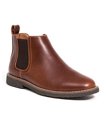 Маленькие и большие мальчики платье Zane Memory Foam Комфортный ботинок челси Deer Stags
