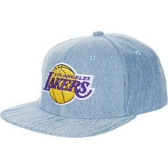 Джинсовые кроссовки NBA LS Snapback Lakers Mitchell & Ness