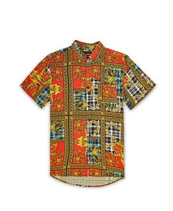 Мужская рубашка в клетку V2 Reason