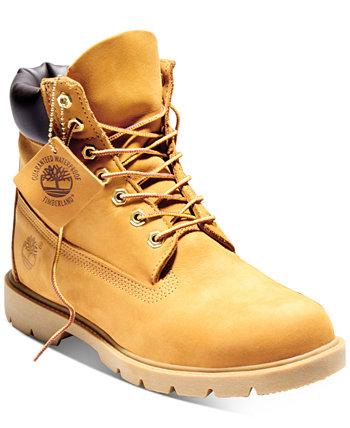 Мужские 6-дюймовые непромокаемые базовые ботинки Timberland