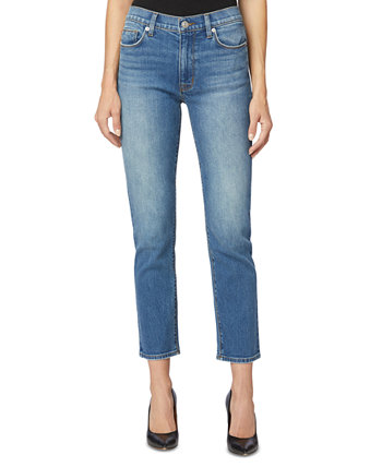 Укороченные прямые джинсы Barbara с высокой посадкой Hudson Jeans