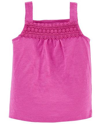 Toddler Girls Crochet Slob Tank Carter's