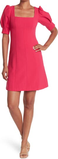 Платье с квадратным вырезом и пышной юбкой Eliza J