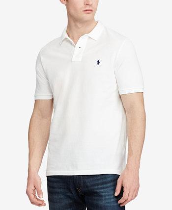 Мужская футболка-поло из хлопковой сетки классического кроя для больших и высоких Ralph Lauren